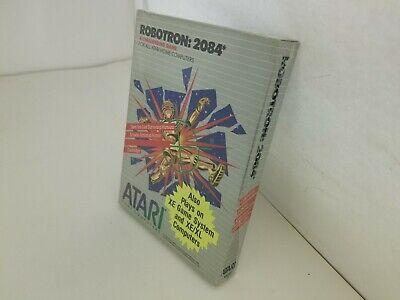 Nuevo Raro Precintado Robotron 2084 Cartucho Para Atari 400/800/XL / Xe S...