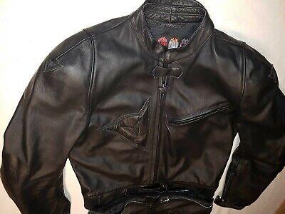 Dainese LUCE Lederkombi Gr 52 schwarz Motorradkombi Leder Leather Suit  d'occasion  Expédié en Belgium