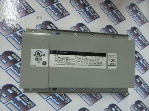 GE DP4GA01EBST, Style 2, (1) 100 Amp, 600 Volt, 3PH, DH Busway End Cap - NEW-S