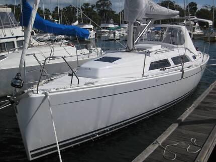 Hanse 325 Cruising / Racing Sailing Yacht South Perth South Perth Area Preview