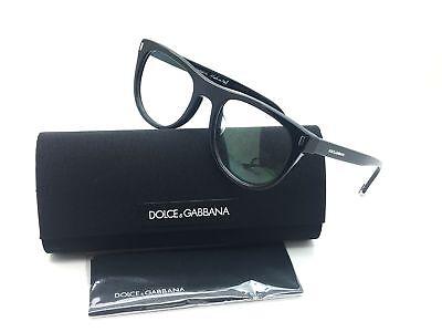 Dolce & Gabbana Women Black Full Rim Italy Eyeglasses DG 3248 F 501 52 Plastic