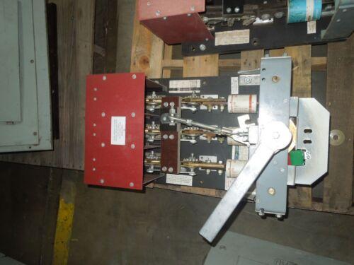 Blo32120i 1200a, 240v, 3p, Black Back Switch Used