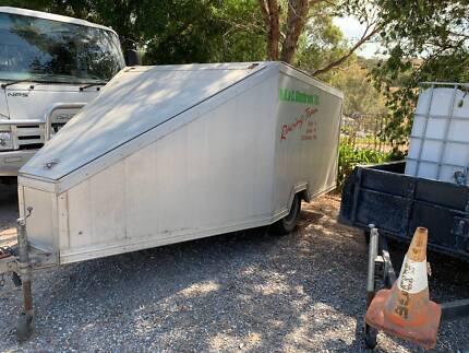 Motorbike, Quad Enclosed Trailer. St Agnes Tea Tree Gully Area Preview