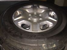 Ford ranger xlt 2015 alloy wheels and tyres 4x4 Mundoolun Logan Area Preview