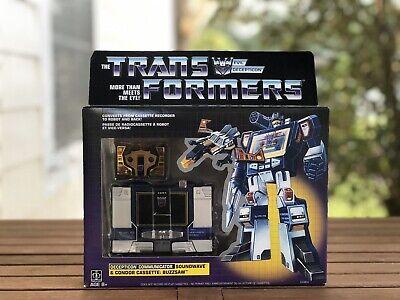 Hasbro Transformers Vintage G1 Exclusive Decepticon Soundwave with Buzzsaw