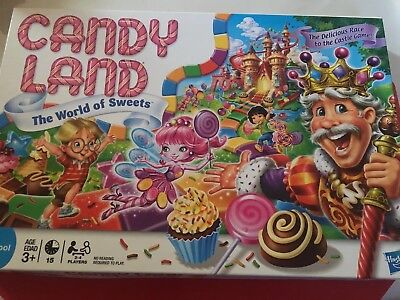 Candy Land Kingdom of Sweet Adventure Preschool Candyland 2010 Board Game
