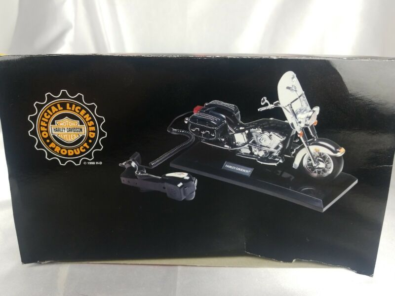 NEW IN BOX 1998 Harley Davidson Telemania Telephone  Heritage Softail Motorcycle