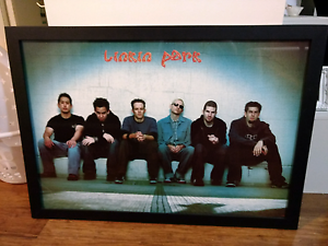 Linkin Park Band Poster Glass Framed Old Toongabbie Parramatta Area Preview
