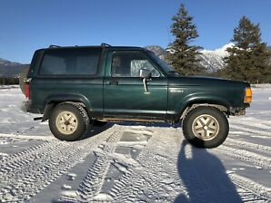 1989 Ford Bronco 2 4x4 Eddie Bauer Edition