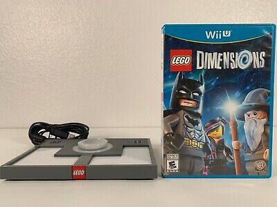 Wii U Lego Dimensions Video Game With Portal Pad Free Same Day Shipping