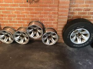 4x4 rims and spare tyre Mitcham Whitehorse Area Preview