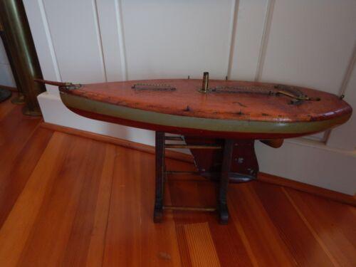 Antique Ship Model Sailboat Pond Boat Nautical