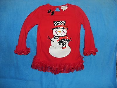 SO ADORABLE~GIRLS EMILY ROSE SNOWMAN OUTFIT SIZE 5