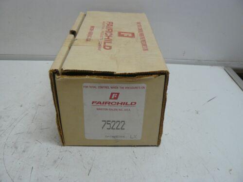 Fairchild 75222 model 75 pressure regulator new