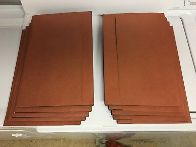2 Expandable Legal File Folder With Wallet Flap Tyvek Gusset Lot Of 10