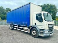 DAF TRUCKS LF 220 Euro6 18 Tonne Curtainsider 2015/64 Registration.
