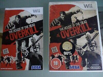 THE HOUSE OF THE DEAD OVERKILL Light-gun Game for Nintendo Wii (and Wii U) segunda mano  Embacar hacia Mexico