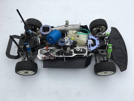 Kyosho Super Eight GP Landmax 4WD Nitro RC Vintage