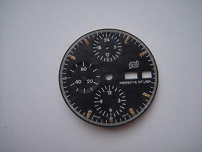 PORSCHE DESIGN CHRONOGRAPH DIAL FOR LEMANIA 5100 USED VINTAGE