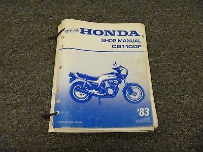 1983 Honda CB1000C Repair Manual Clymer M325 Service Shop Garage Maintenance