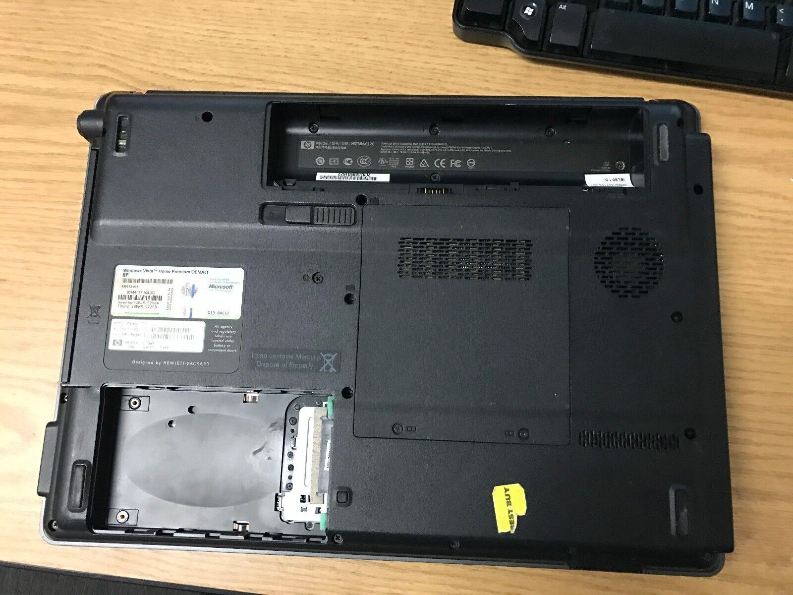 """4 of 6 15"""" HP Compaq Presario C700 Laptop"""