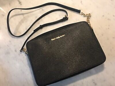 Michael Kors Jet Set Crossbody Bag - Black