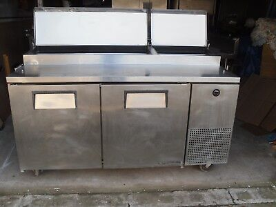 Used Pizzasandwich Prep Table Has Refrigerated Base Model Tpp 67 Make True
