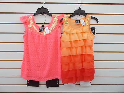 Toddler   Girls Pogo Club  2Pc Tank   Capri Leggings Sets Size 2T   6X