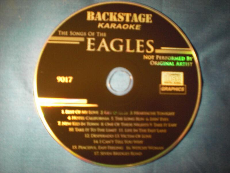 KARAOKE CD+G  BACKSTAGE 9017 EAGLES