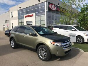 2012 Ford Edge Limited Loaded has DVD