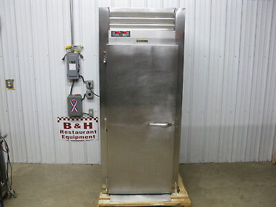 Traulsen 1 Door Roll In Rack Pizza Dough Proofer Warmer Rpp132l-fhs