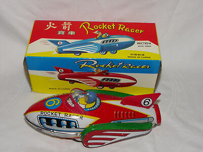 BLECHSPIELZEUG ROCKET RACER MF 735 MIT FRICTION - MADE IN CHINA