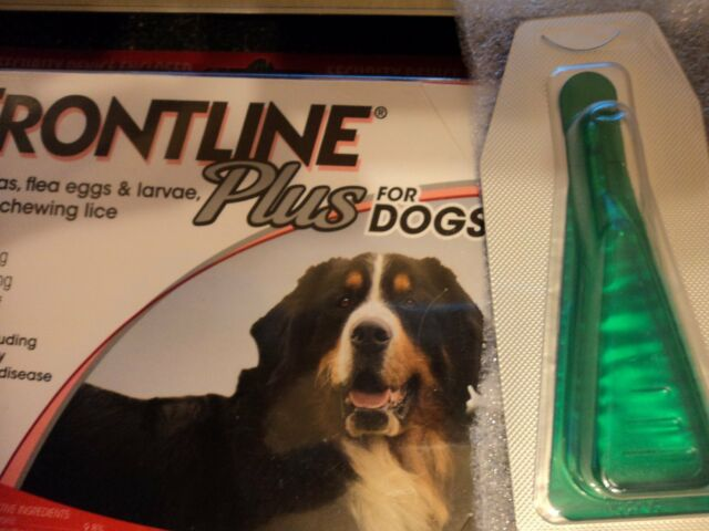 "Merial Frontline Plus 3 DOSES For Dogs 89-132 lb  FREE S/H  "" NEW ...."
