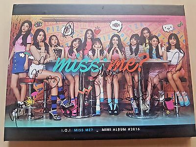 I.O.I ioi signed/autographed Miss Me VERY VERY album with YEON JUNG photo card