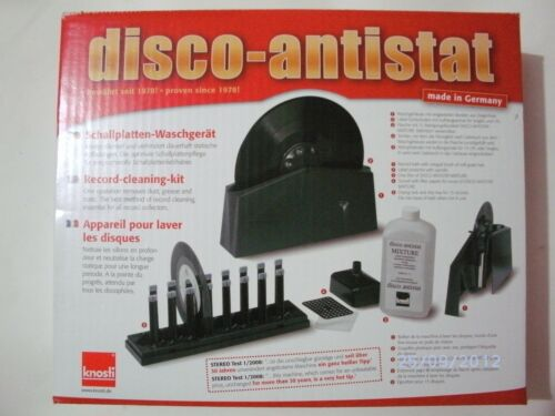 Machine Cleanliness Vinyl Records Knosti Disk Antistat + LIQUIDO Antistatic