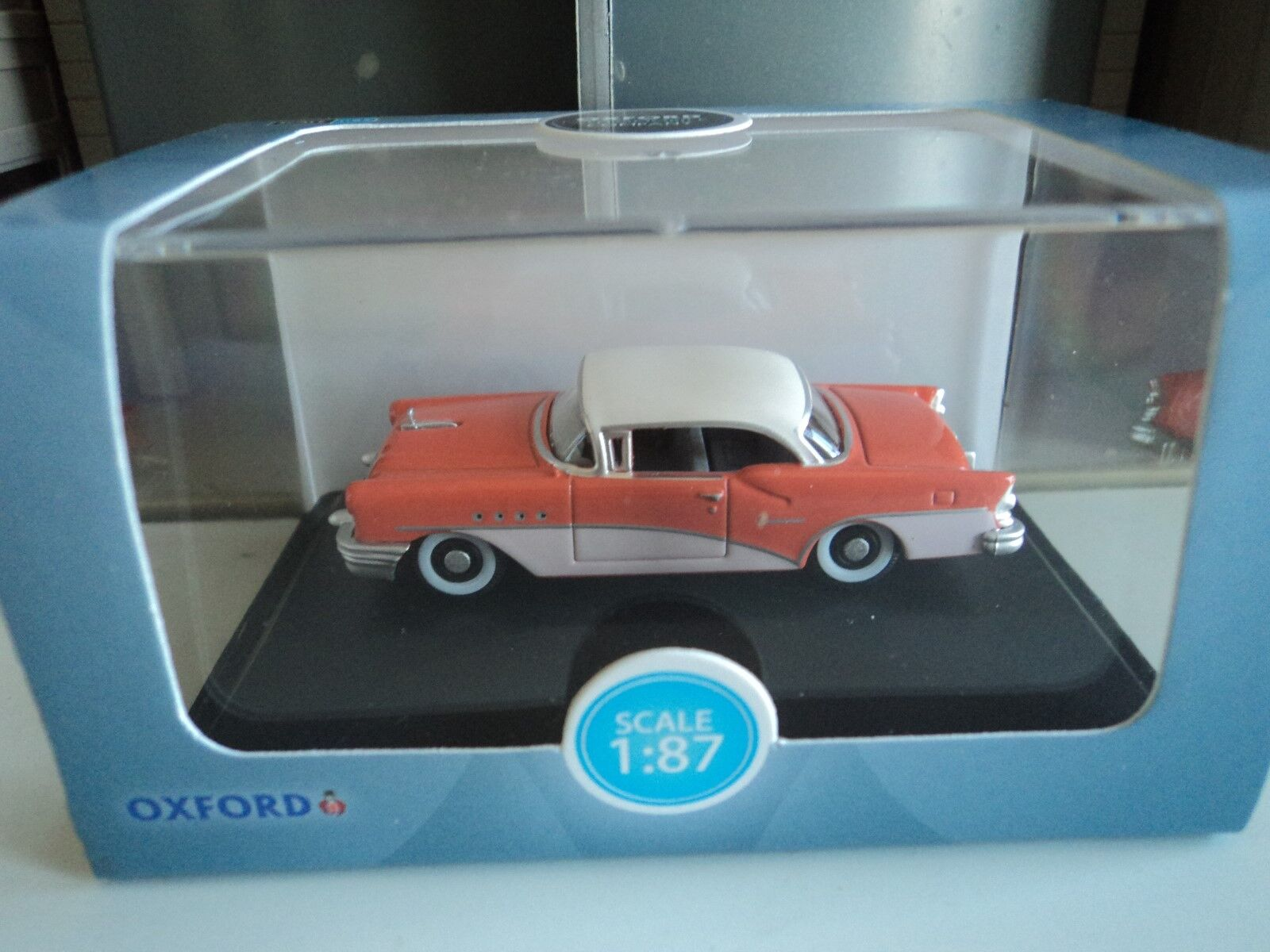 Oxford Diecast 1//87 1955 Buick Century #87BC55002 HO Scale
