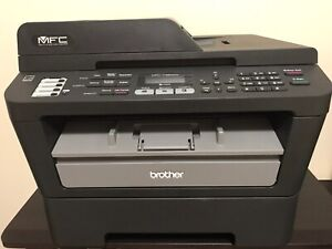 Brothers Laser Printer with Scanner,  copier and Fax machine.