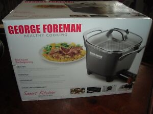 George Foreman Smart Kitchen Multicooker