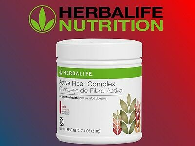 HERBALIFE ACTIVE FIBER COMPLEX APPLE  DIGESTIVE HEALTH TASTY HEALTHY 7.4 OZ.