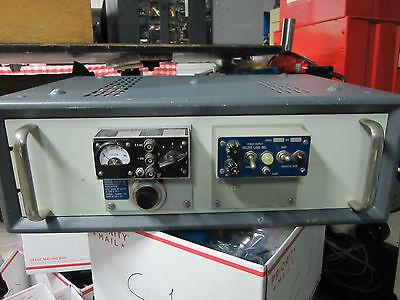 Vintage Sulzer Ultra Stable Quartz Oscillator 2.5 Mhz Frequency Standard