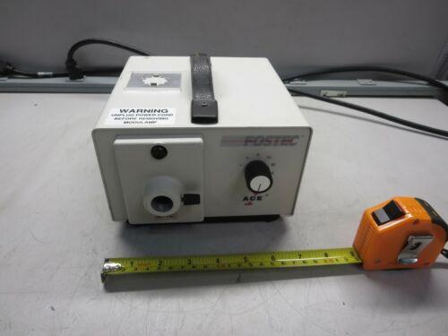 Fostec, 20520, Illuminator, F/Fiber Optic, Ace, 115 VAC, 60 HZ, 3 A