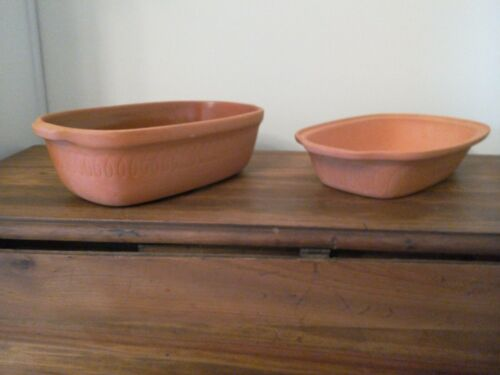 LITTONWARE TERRA COTTA CLAY GLAZED  SIMMER POT microwave or conventional