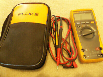 Fluke 179 True-rms Digital Multimeter With Soft Case And Leads