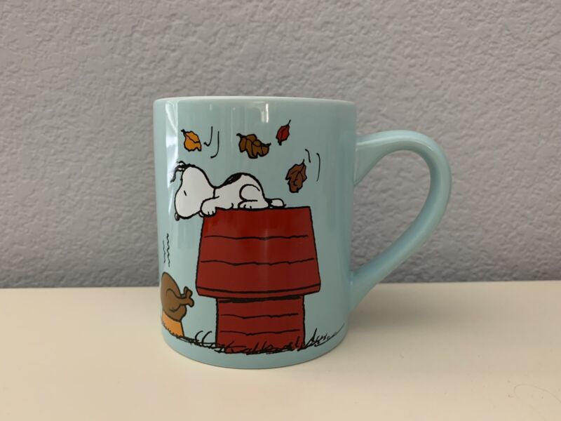 Peanuts Snoopy Be Thankful Mug, New