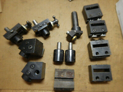 Pile Of Hardinge Other Turret Metal Lathe Tools L5 Tba 58 Te 58 Asm-c3 Asm-c4