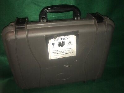 Seahorse Protective Laptop Computer Equipment Hard Case 710 Grey Lockable Computer Equipment Protection