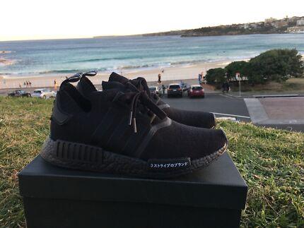 Adidas NMD triple black japan pack size 6, 7.5 , 10, 11.5