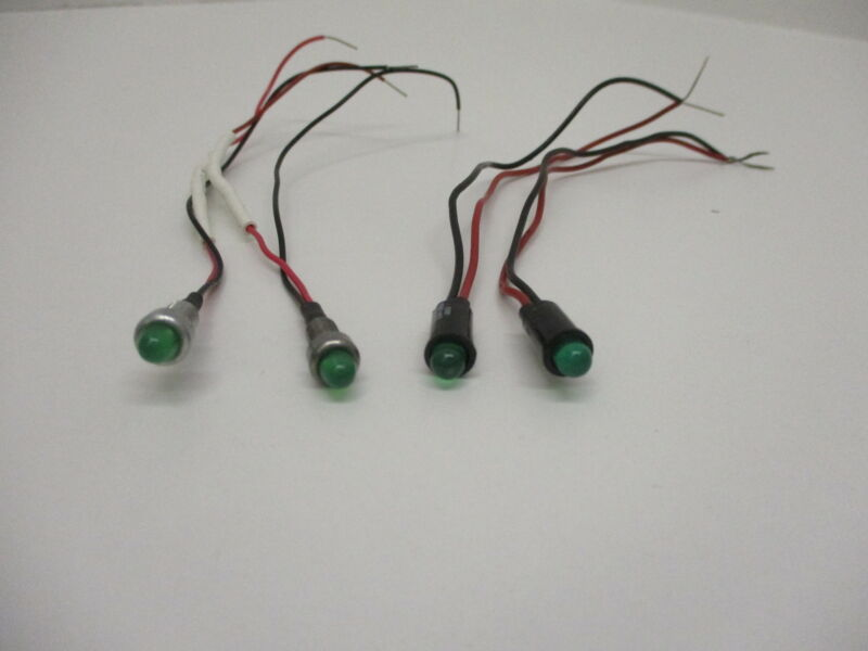 *NEW* (LOT OF 4) DIALCO 559-0203 INDICATOR LED GREEN