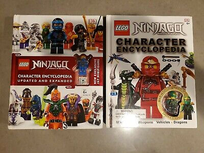 LEGO NINJAGO Character Encyclopedia, Updated Edition Series 1 and 2 incl minifig