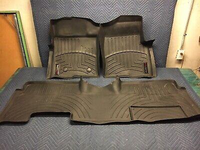 WeatherTech Floor Mat FloorLiner 2010-2014 Ford F-150 - Ext. Cab Super cab Black